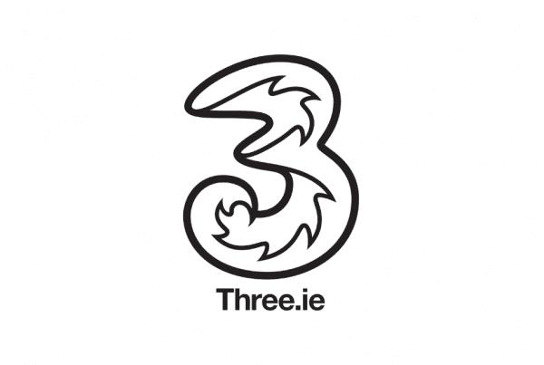 Three Ireland Logo Website