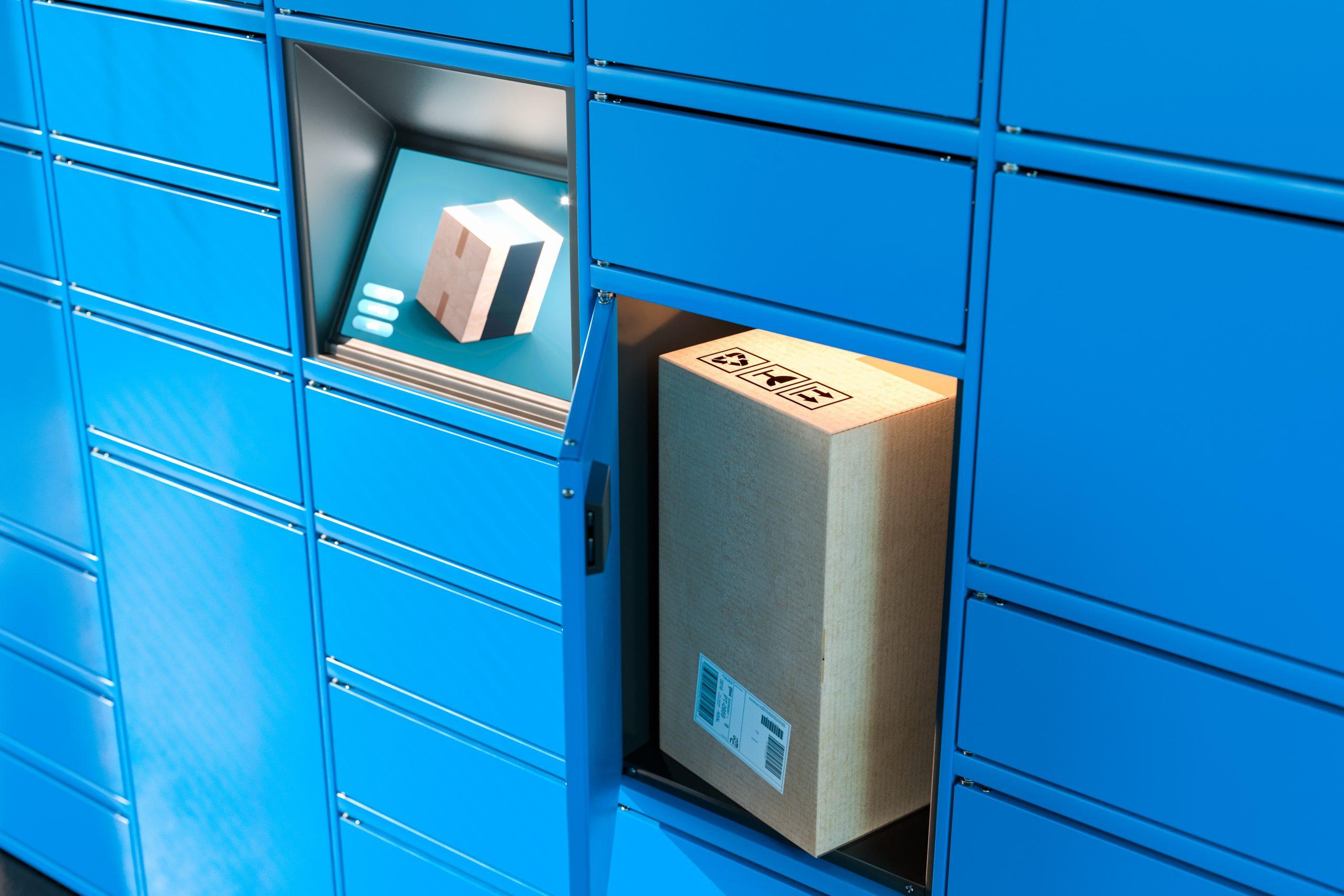 Smart Locker for Parcels & Asset Storage with Tablet Interface