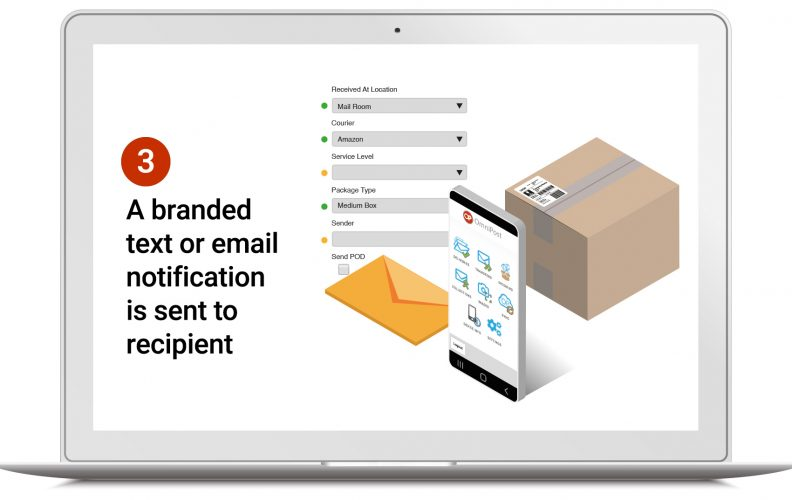 internal mail tracking system