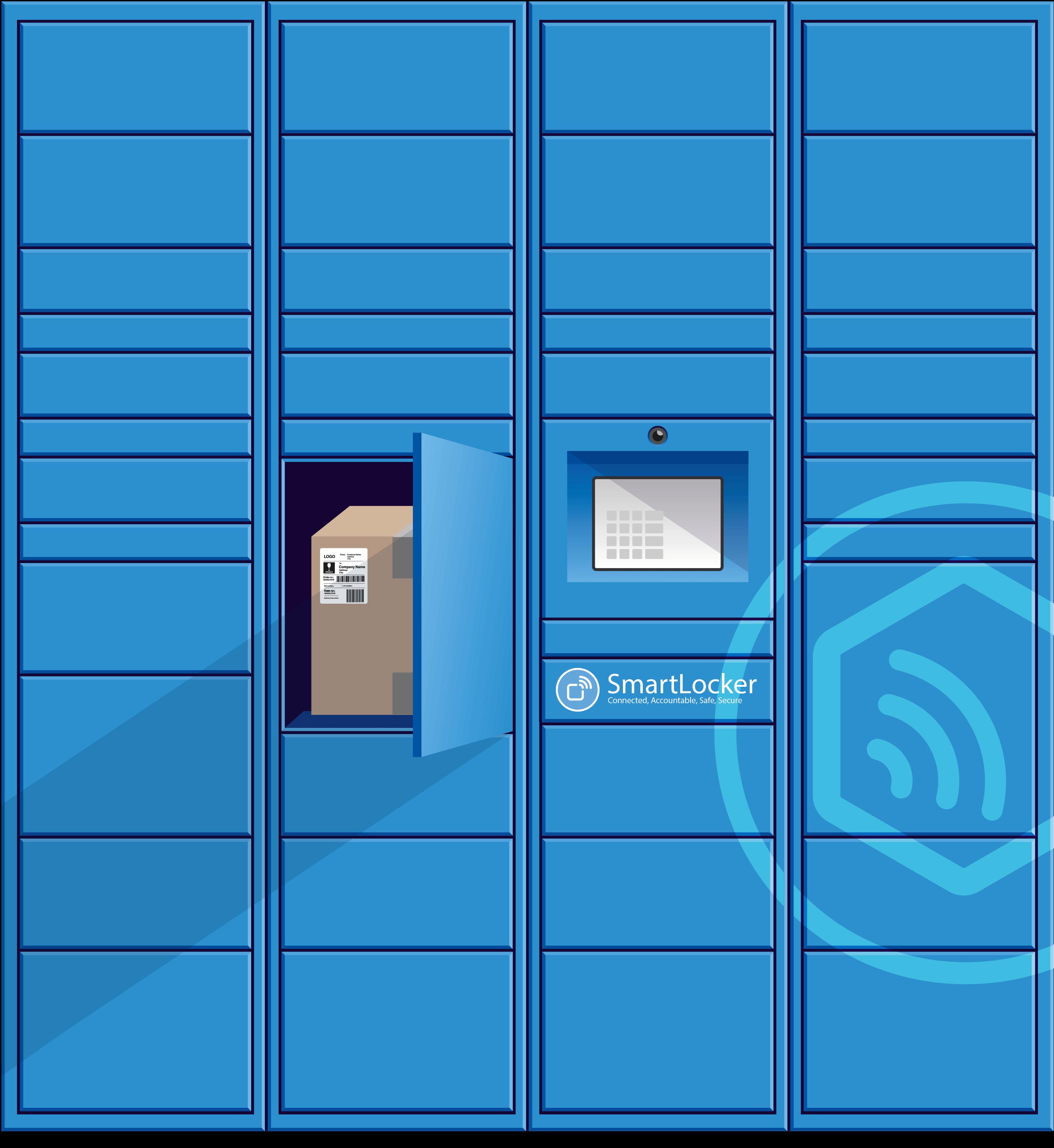 Smart_locker_CAD_drawing