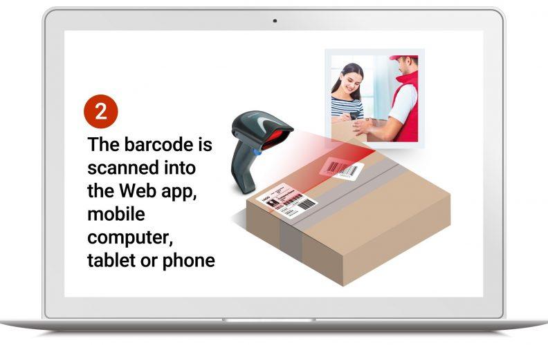 parcel barcode scanner